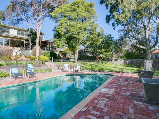 Montrose –  Garden and Pool – Mount Martha